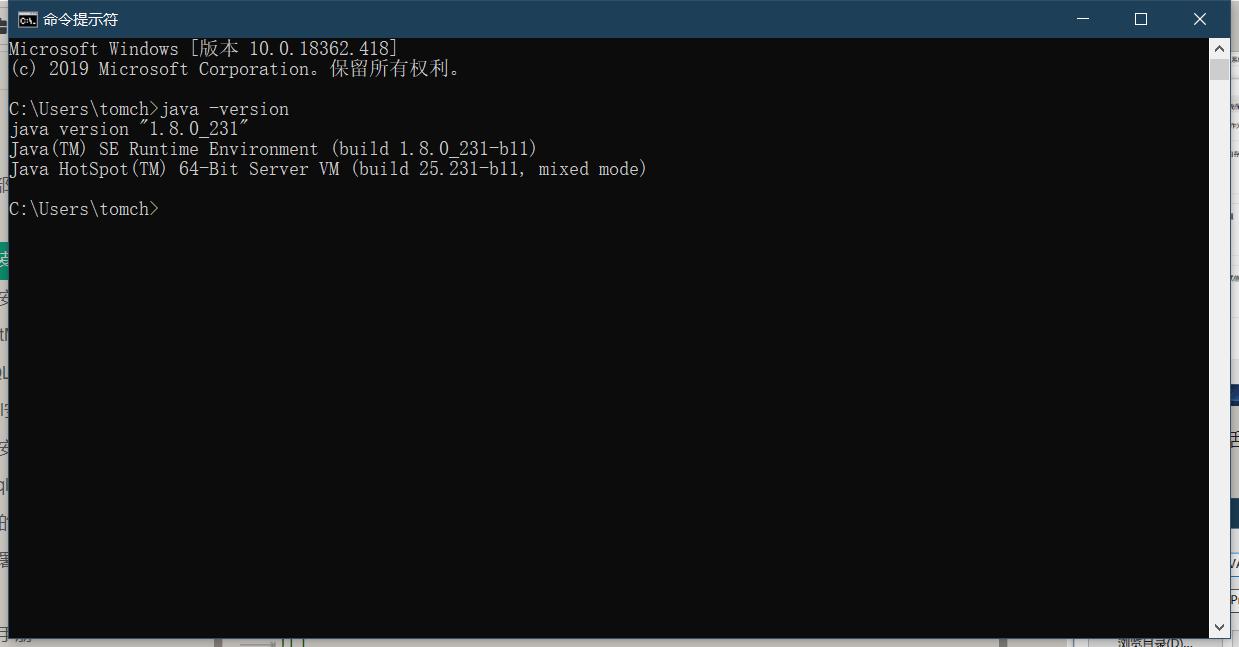 jdk安装成功示例
